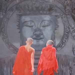 By the Enlightened One 02 -Original Vietnamese Art