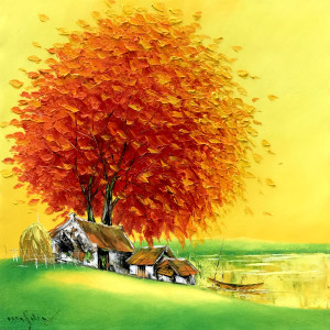 Blossom tree-60x60